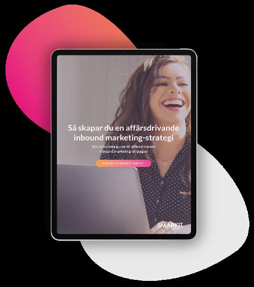 Guide inbound marketing on tablet